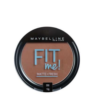 Maybelline Fit Me Cor 300 Escuro Original - Pó Compacto
