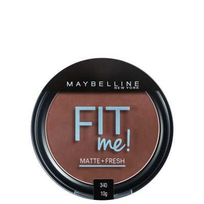 Maybelline Fit Me Cor 340 Escuro Autêntico - Pó Compacto
