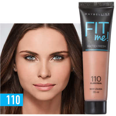Maybelline Fit Me! Toque Matte + Fresh 110 - Base Líquida 35ml