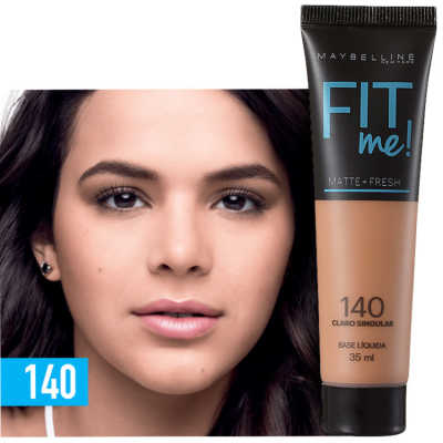 Maybelline Fit Me! Toque Matte + Fresh140 - Base Líquida 35ml