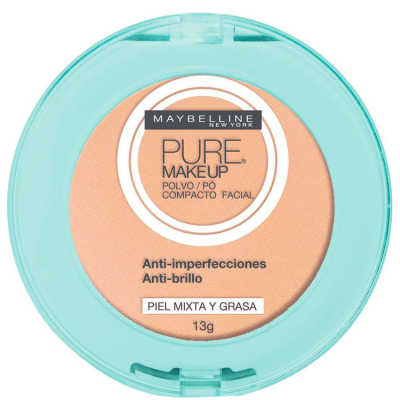 Maybelline Pure Makeup Bege Claro - Pó Compacto 13g