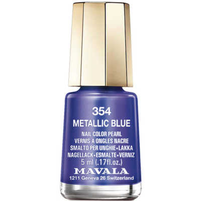 Mavala Mini Color Metallic Blue - Esmalte 5ml