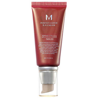 Missha M Perfect Cover Nº 13 Bright Beige - BB Cream 50ml