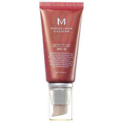 Missha M Perfect Cover Nº 31 Golden Beige - BB Cream 50ml
