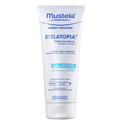 Mustela Dermo-Pédiatrie Stelatopia Crème Emolliente - Creme Hidratante 200ml