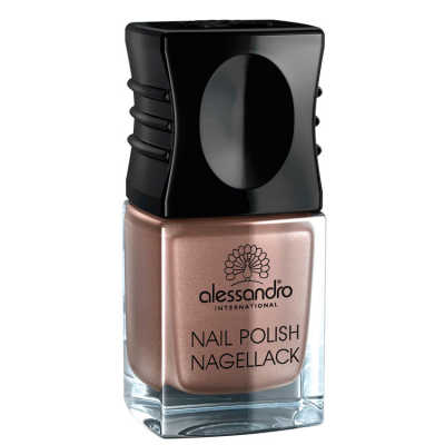 Alessandro Nail Polish Brown Metallic - Esmalte 10ml