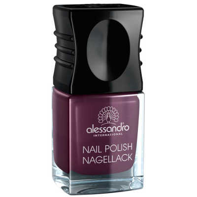 Alessandro Nail Polish Dark Violet - Esmalte 10ml