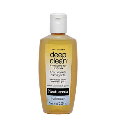 Neutrogena Deep Clean Adstringente - Tônico Facial 200ml