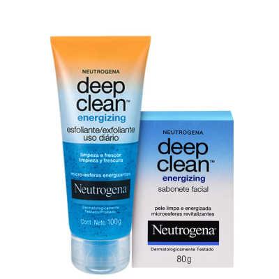 Neutrogena Deep Clean Energizing - Duo de Limpeza (2 Produtos)