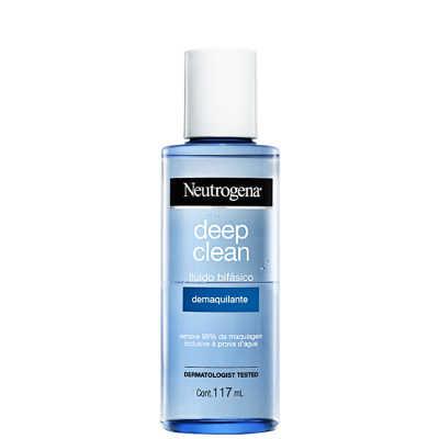 Neutrogena Deep Clean - Fluído Bifásico Demaquilante 117ml