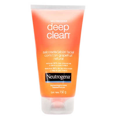 Neutrogena Deep Clean Grapefruit - Gel de Limpeza Facial 150g
