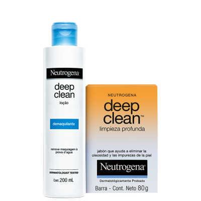Neutrogena Deep Clean - Kit de Limpeza (2 Produtos)