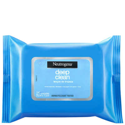 Neutrogena Deep Clean - Lenço Demaquilante Facial 25un