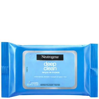 Neutrogena Deep Clean - Lenço Demaquilante Facial 7un