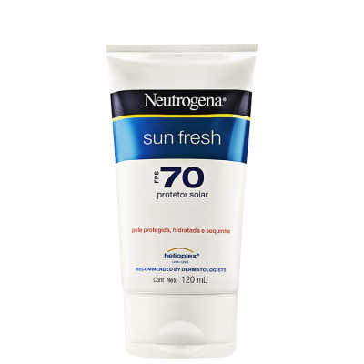 Neutrogena Sun Fresh FPS 70 - Protetor Solar 120ml