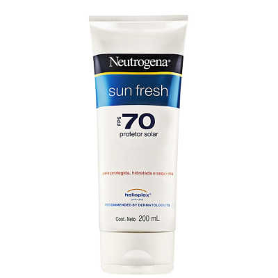 Neutrogena Sun Fresh FPS 70 - Protetor Solar 200ml