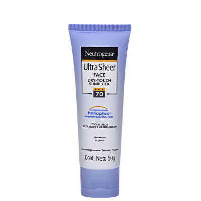 Neutrogena Ultra Sheer FPS 70 - Protetor Solar Facial 50g