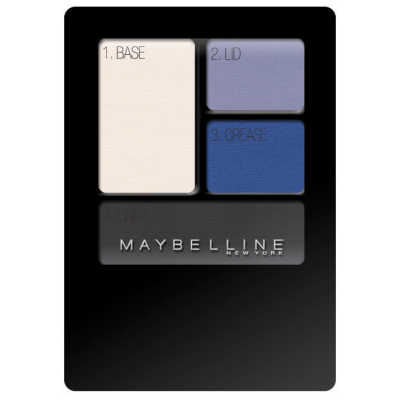 Maybelline New Expertwear Eyeshadow Electric Blue - Quarteto de Sombras 4,8g