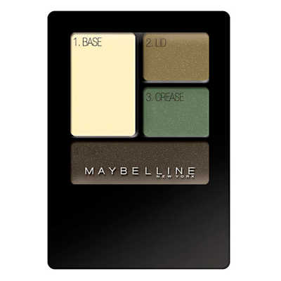 Maybelline New Expertwear Eyeshadow Emerald Smokes - Quarteto de Sombras 4,8g