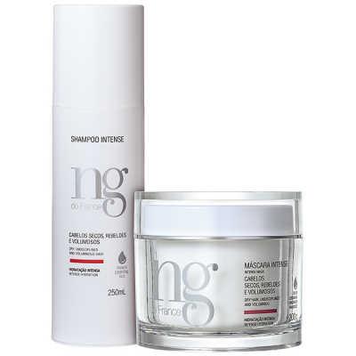 NG de France Intense Hidratação Poderosa Kit (2 Produtos)