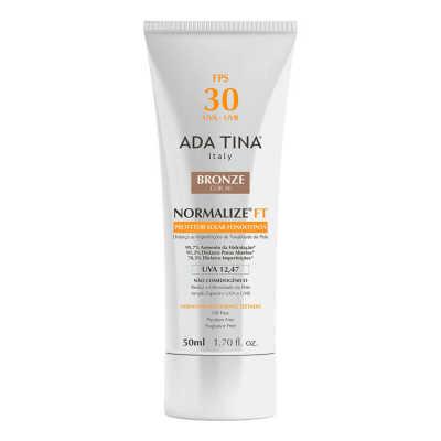 Ada Tina Normalize Ft Fondotinta Fps 30 Bronze Cor 40 - Protetor Solar Com Cor 50ml