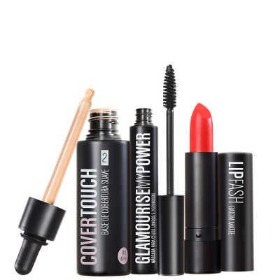 Kit Océane Femme Cover Touch 2 Glamourise Lip Fash Cassandra (3 produtos)