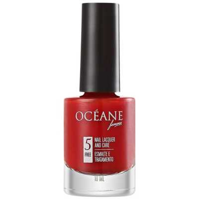 Océane Femme Nail Lacquer And Care Red Valetine - Esmalte 10ml