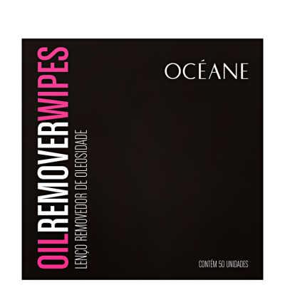 Oil Remover Wipes - Lenço Removedor de Oleosidade 50un