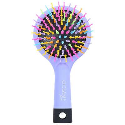 Rainbow Brush Lilás - Escova Almofadada Pequena