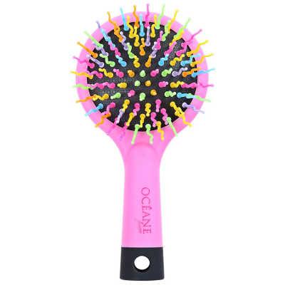 Rainbow Brush Rosa - Escova Almofadada Pequena