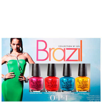 OPI Brazil Collection Beachsandies Kit (4 Miniaturas)