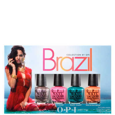 OPI Brazil Collection Copacababies Kit (4 Miniaturas)