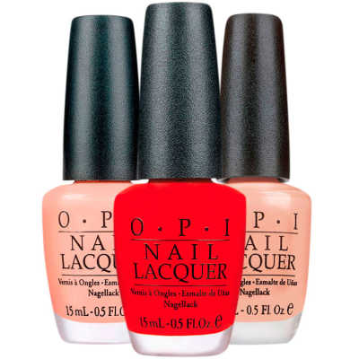 OPI Red Dulce Blush Kit Clássicos (3 Produtos)