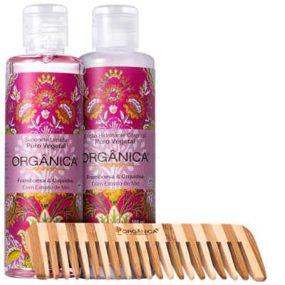 Orgânica Set Framboesa e Orquídea Kit (3 Produtos)