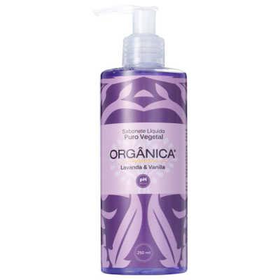 Orgânica Puro Vegetal Lavanda e Vanilla - Sabonete Líquido 250ml