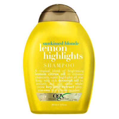 Organix Lemon Highlights - Shampoo 385ml
