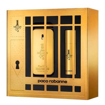 Paco Rabanne Conjunto Masculino 1 Million - Eau de Toilette 50ml + Desodorante 10ml