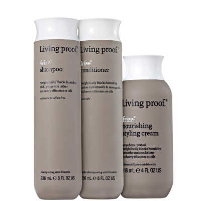 Living Proof No Frizz Nourishing Styling Kit (3 Produtos)