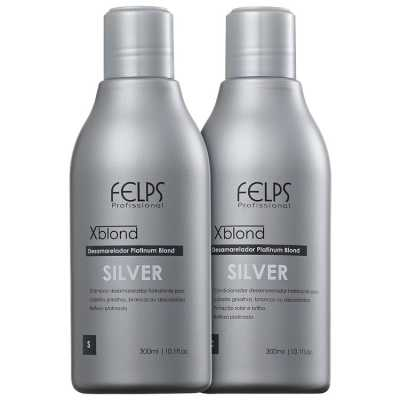 Felps Profissional XBlond Silver Duo Kit (2 Produtos)