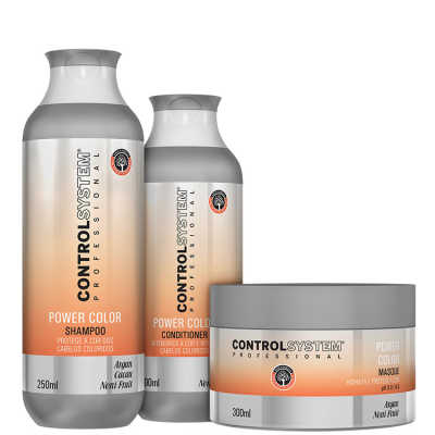 Control System Professional Power Color Treatment Kit (3 produtos)
