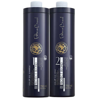 Pataua Brazil Protect Blond Color Ice Profissional Duo Kit (2 Produtos)