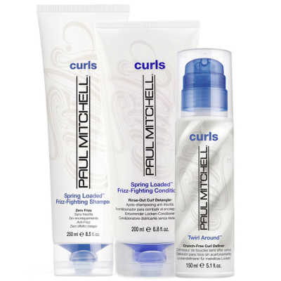 Paul Mitchell Curls Spring Loaded Twirl Kit (3 Produtos)