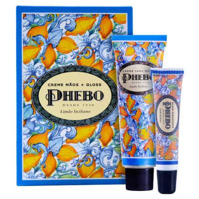 Phebo Mediterrâneo Limão Siciliano Kit (2 Produtos)