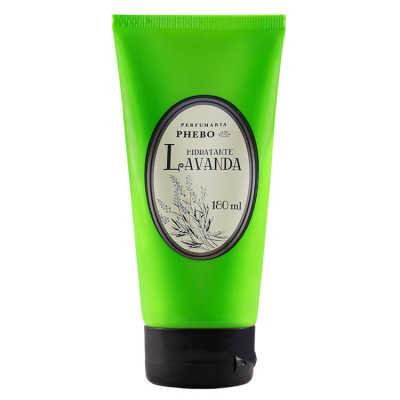 Phebo Perfumaria Hidratante Lavanda - Loção Corporal 180ml