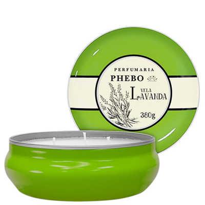 Phebo Perfumaria Águas de Phebo Lavanda - Vela Perfumada 380g