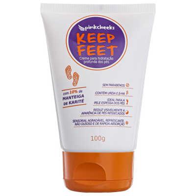 Pink Cheeks Keep Feet - Creme para os Pés 100g