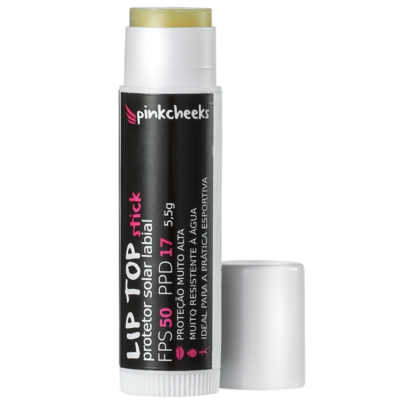Pink Cheeks Lip Top Stick FPS 50 - Protetor Solar Labial 5,5g