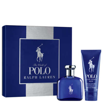 Ralph Lauren Conjunto Masculino Polo Blue - Eau de Toilette 75ml + Gel de Banho 100ml