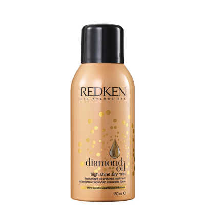 Redken Diamond Oil High Shine Airy Mist – Spray de Brilho 150ml