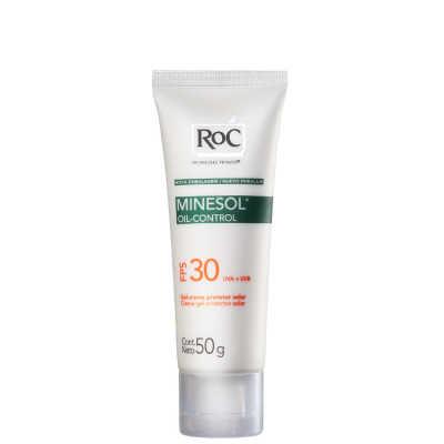 RoC Minesol Oil Control Fps 30 - Protetor Solar Facial 50g